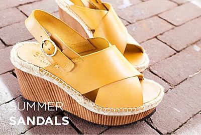 Zomerse sandalettes