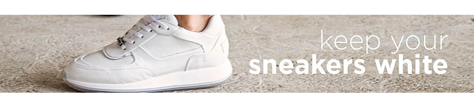 Hoe krijg je witte schoenen weer wit?