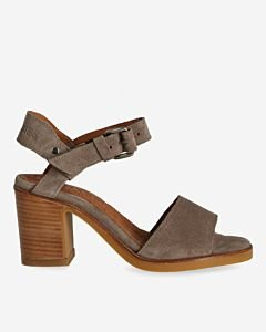 Taupe-suede-strappy-sandal