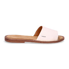 Slipper-leather-off-white