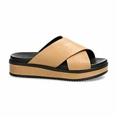 Shabbies Amsterdam Sand slipper with leather sole
