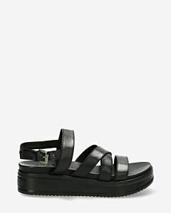 Sandal-with-covered-wedge-black