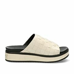Sandals-woven-tanned-leather-with-off-white-straps