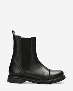 Chelsea boot waxed leather black