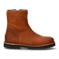 Ankle-boot-with-wool-lining-and-zipper-cognac