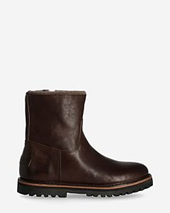 Wool-lined-ankle-boot-smooth-leather-dark-brown