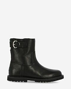 Wool-lined-ankle-boot-vegetable-leather-black
