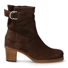 Ankle-boot-with-zipper-dark-brown