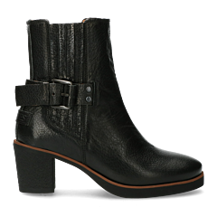 Chelsea-boot-with-buckle-black