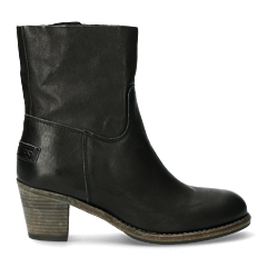 Black-heeled-ankle-boot-with-zipper