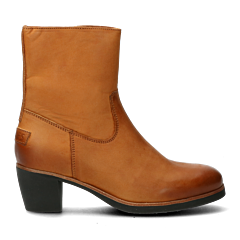 Heeled-ankle-boots-cognac-from-waxed-grain-leather