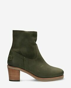 Heeled-ankle-boot-waxed-grain-leather-dark-green