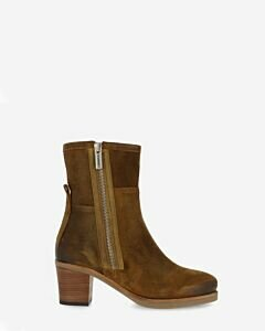 Ankle boot lieve warm brown