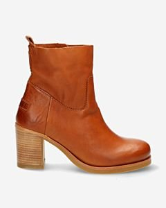 Cognac-ankle-boot