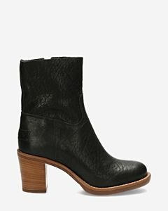 Heeled-ankle-boot-grain-leather-black