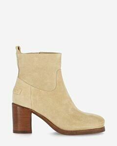 Zipper-boot-suede-with-beige-heel-