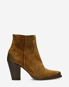 Western ankle boot Lola warm brown