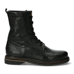 Biker-boots-smooth-leather-black