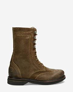 Bikerboot-waxed-buffed-leather-brown