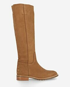 Shaft-boot-hand-buffed-leather-leather-brown