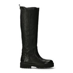 High-tread-sole-boot-black
