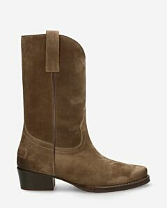 Western-boot-waxed-grain-leather-taupe