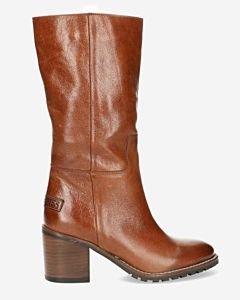 Boot-grain-leather-brown