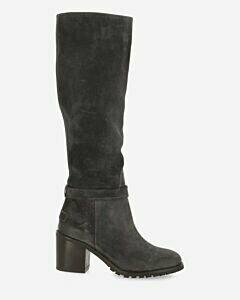 Boot waxed gewaxt suede grey