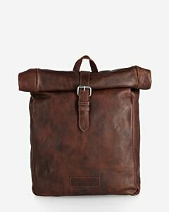 Shabbies Amsterdam Backpack structure leather cognac
