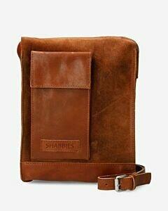 Crossbody-bag-waxed-suede-orange
