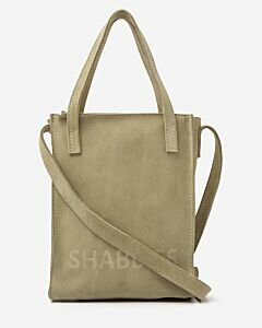 Small-shopper-suede-green
