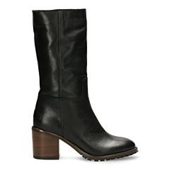 Boot-grain-leather-black