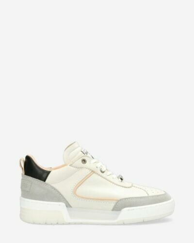 Sneaker Revin leather-mix off white