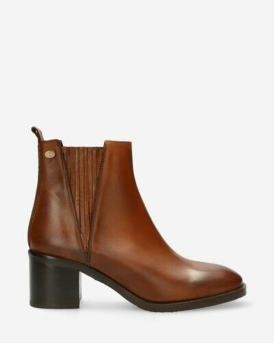 Chelsea ankle boot soft smooth leather brown