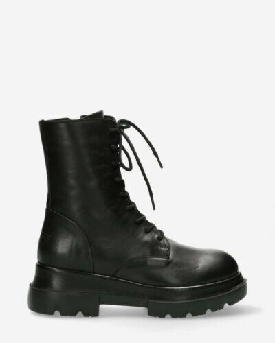 Bikerboot smooth leather black