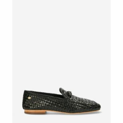Loafer-woven-leather-Black