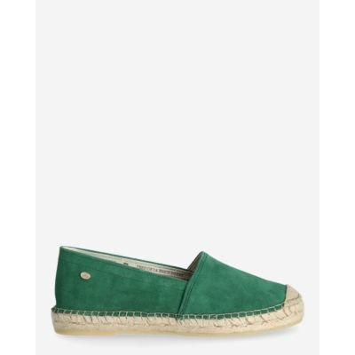 Espadrille-loafer-suede-green