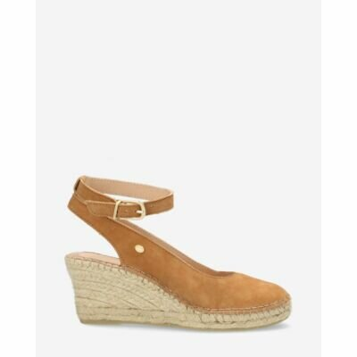 Fred de la Bretoniere light brown espadrille