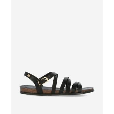 Black-sandal-with-straps