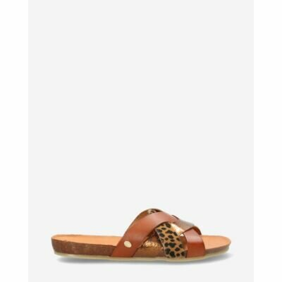 Slipper-smooth-leather-cognac