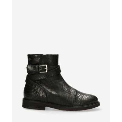 Lined-ankle-boot-printed-leather-black