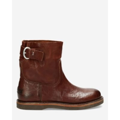 Ankle-boot-smooth-leather-brown