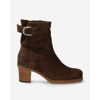 Heeled-ankle-boot-waxed-suede-dark-brown