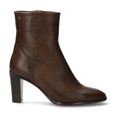 Ankle-boot-from-lizard-printed-leather-Dark-Taupe