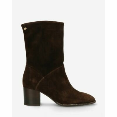 Heeled-ankle-boot-waxed-suede-dark-brown-