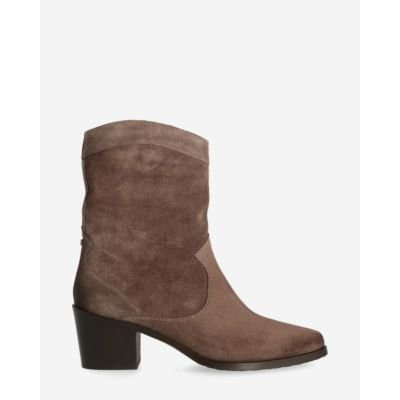 Western-ankle-boot-suede-taupe