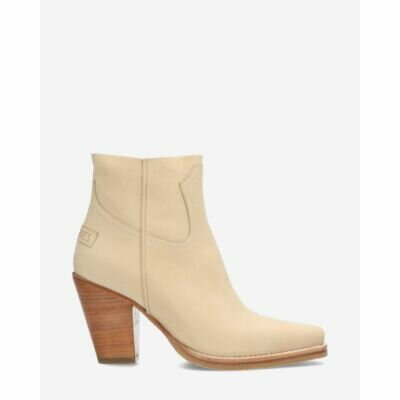 Zipper-boot-hand-buffed-leather-beige