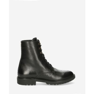 Biker-boot-soft-smooth-leather-black