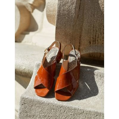 YARA-sandalette-4cm-leather-cognac