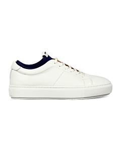 Sneaker-smooth-leather-white-blue-